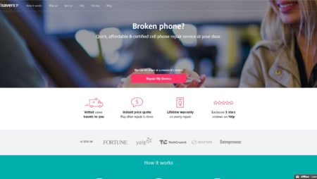 PHP Website For Cellsavers