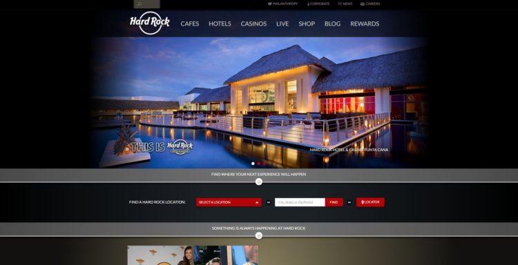 Hardrock Website For Travel