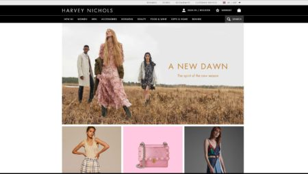 Magento Website For Harvey Nichols