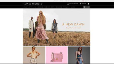 Magento Website For Harvey Nichols