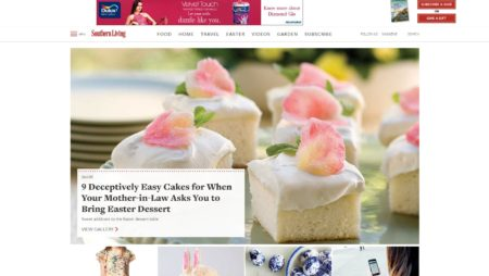 PHP Website For Southernliving