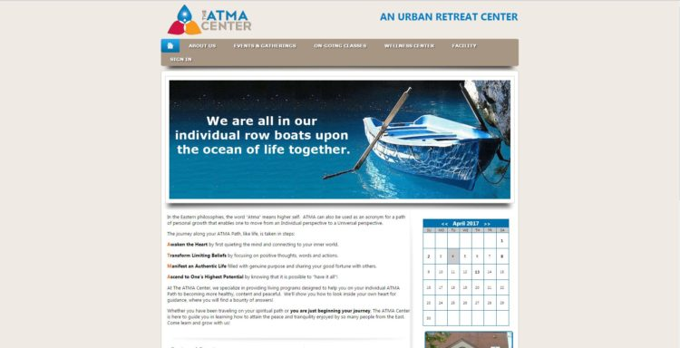 Atma Website in ASP .NET