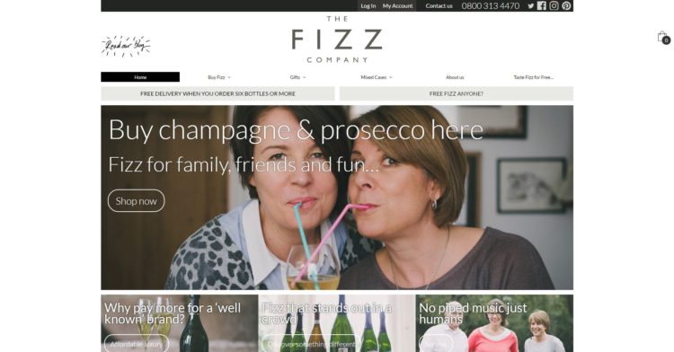Ecommerce For Fizz